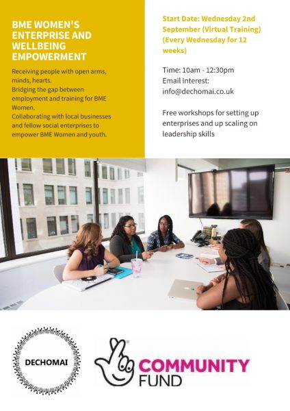 BME Women's enterprise and wellbeing empowerment